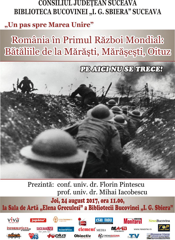 România în Primul Război Mondial: Bătăliile de Mărăști, Mărășești, Oituz