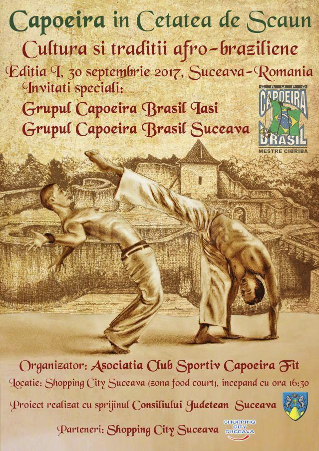 Capoeira în Cetatea de Scaun