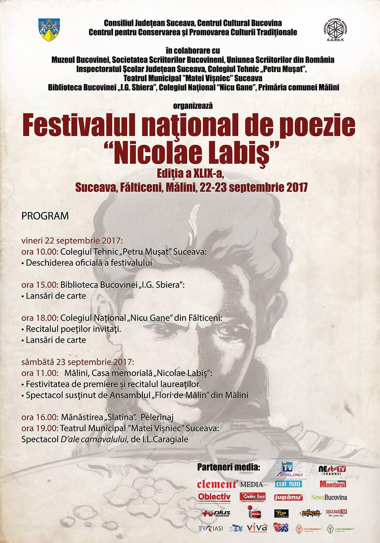Festivalul național de poezie Nicolae Labiș