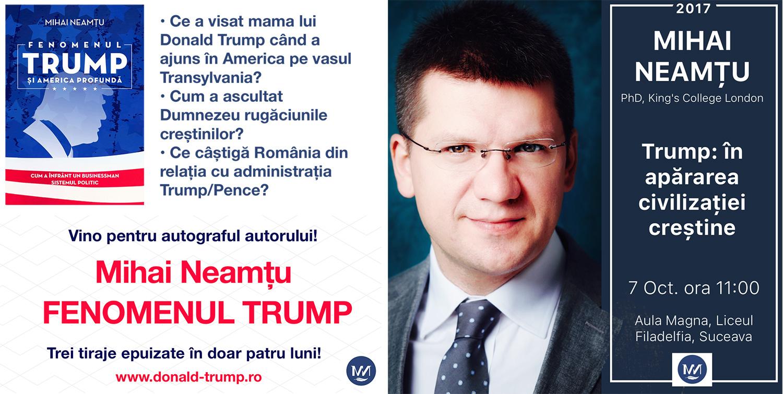 Mihai Neamțu – Fenomenul Trump și America profundă
