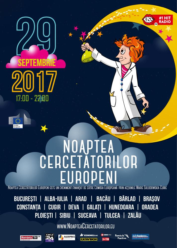 Se apropie Noaptea Cercetătorilor Europeni, un proiect esențial pentru educația noilor generații