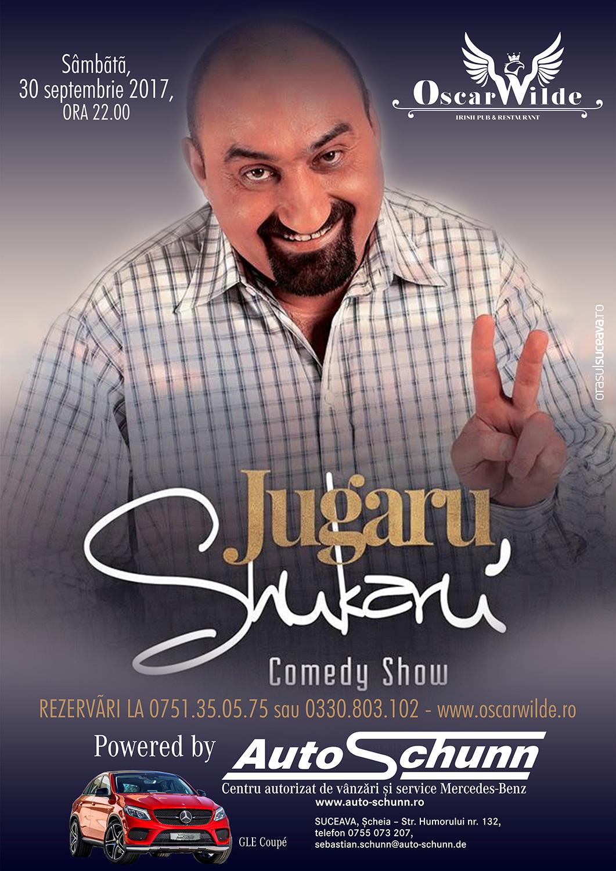 Stand-up comedy cu Jugaru Shukaru'