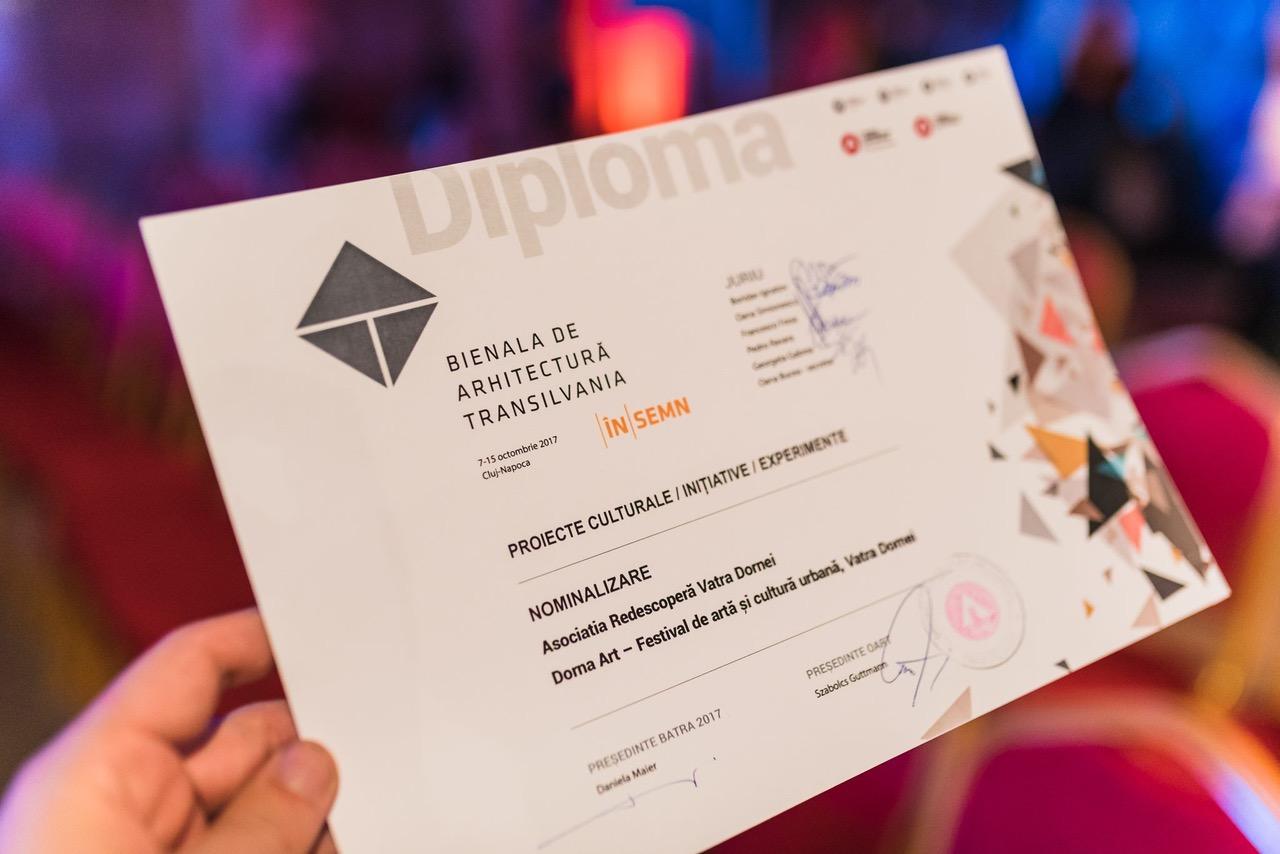 Proiectul Dorna Art apreciat de juriul internațional al Bienalei de Arhitectură Transilvania (BATRA)