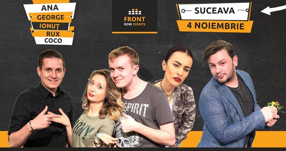 Stand-up comedy cu Ana, George, Ionuț, Rux și Coco