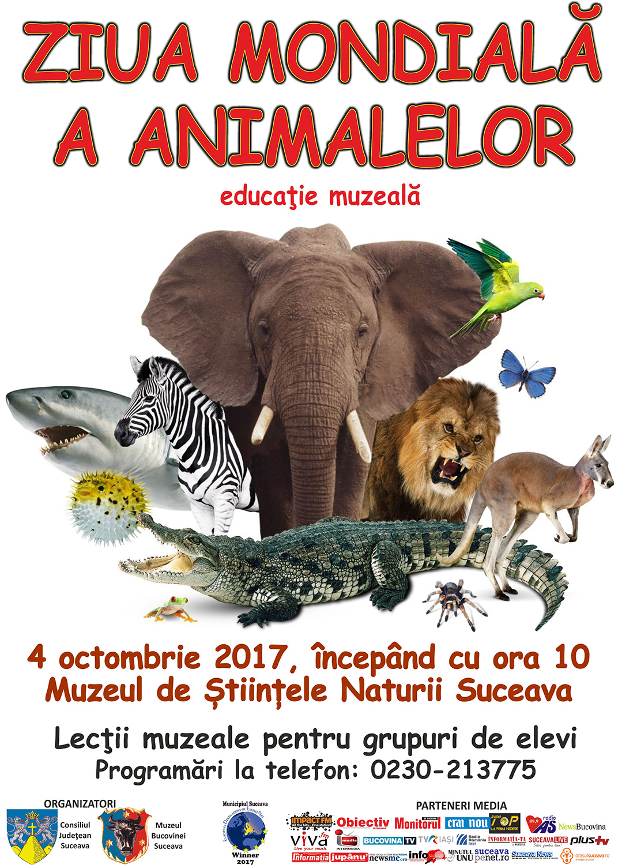 Ziua Mondială a Animalelor