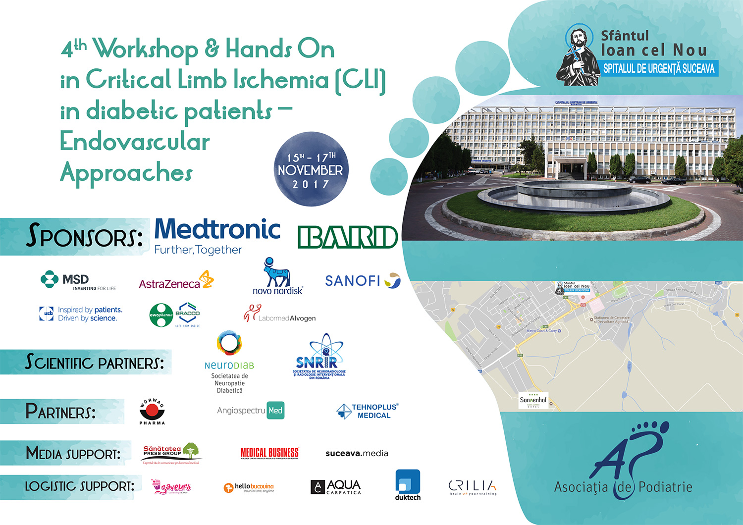 4th Workshop & Hands On in Critical Limb Ischemia (CLI) in diabetic patients - Endovascular Approaches