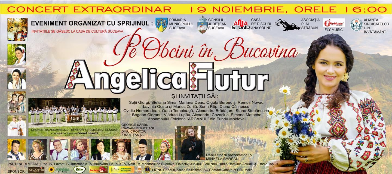 Angelica Flutur – Pe Obcini în Bucovina