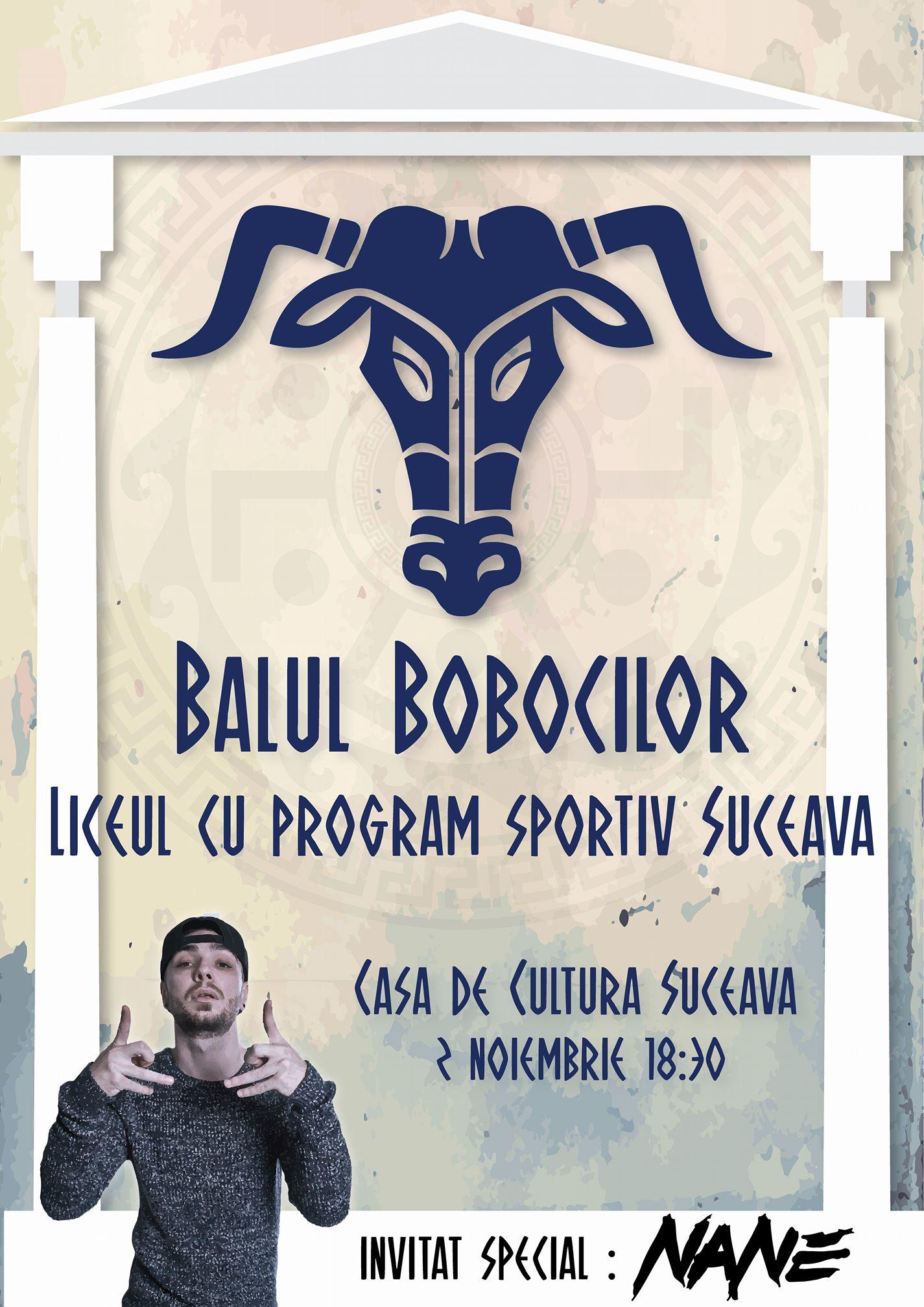 Balul Bobocilor Liceului cu Program Sportiv (Suceava)