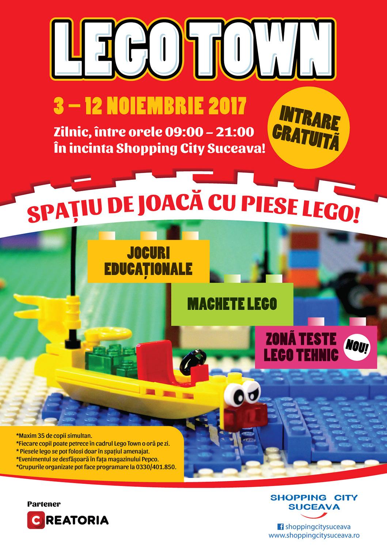 Orășelul LEGO