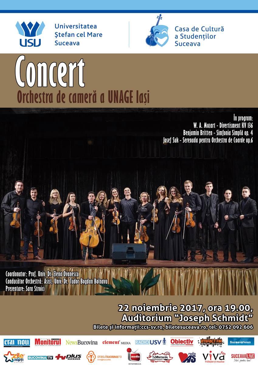 Orchestra de cameră a Universității Naționale de Arte George Enescu (UNAGE) (Iași)