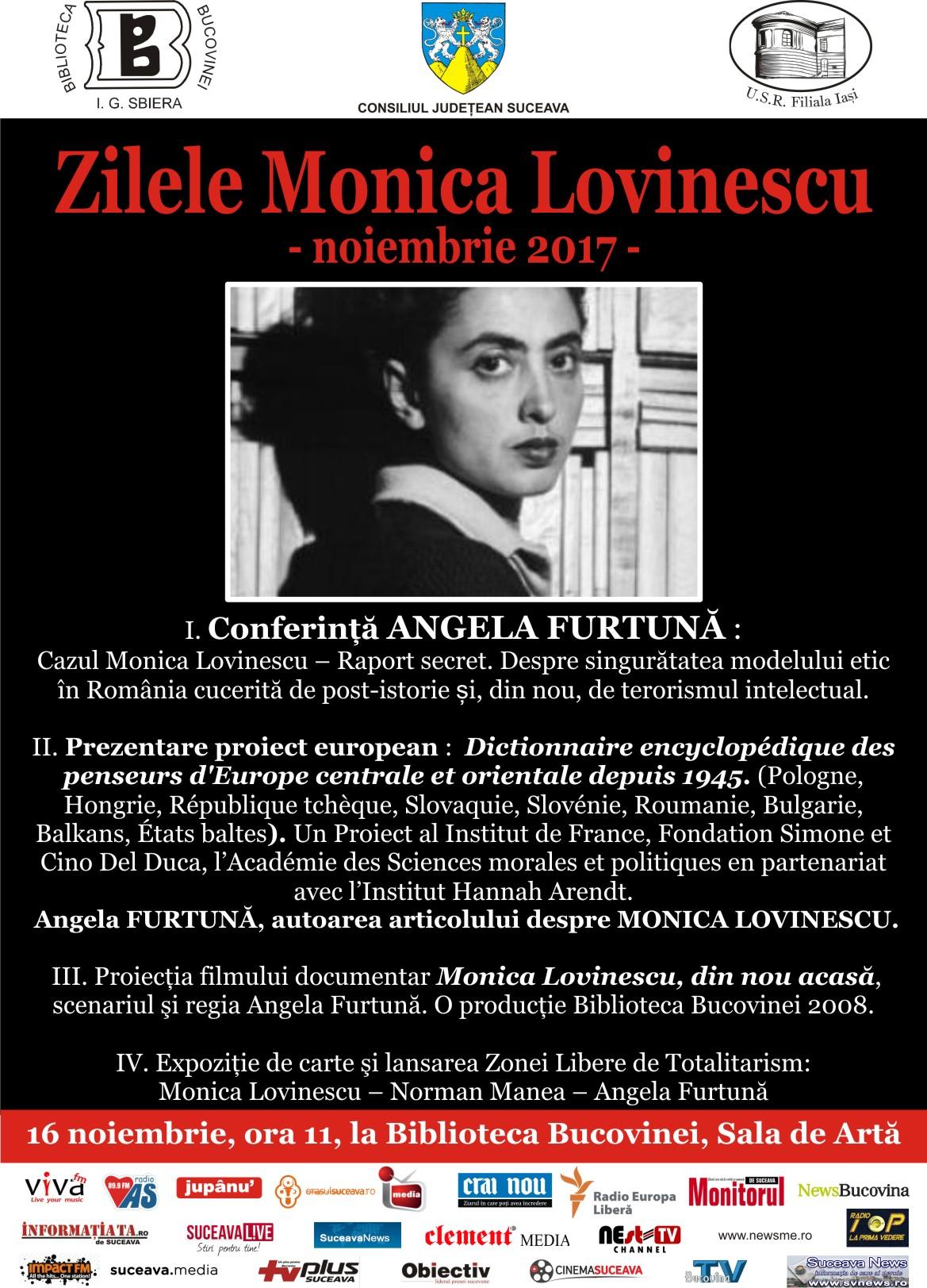 Zilele Monica Lovinescu