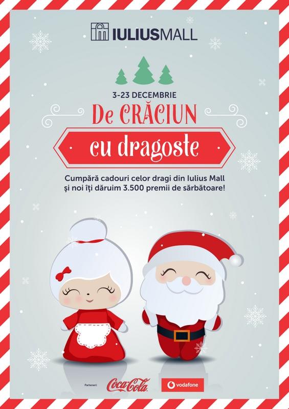 De Crăciun, Iulius Mall Suceava reunește familia în jurul bradului și oferă peste 3.500 de cadouri