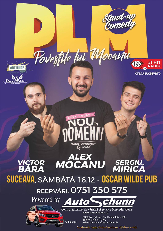 Victor Bara, Alex Mocanu și Sergiu Mirică