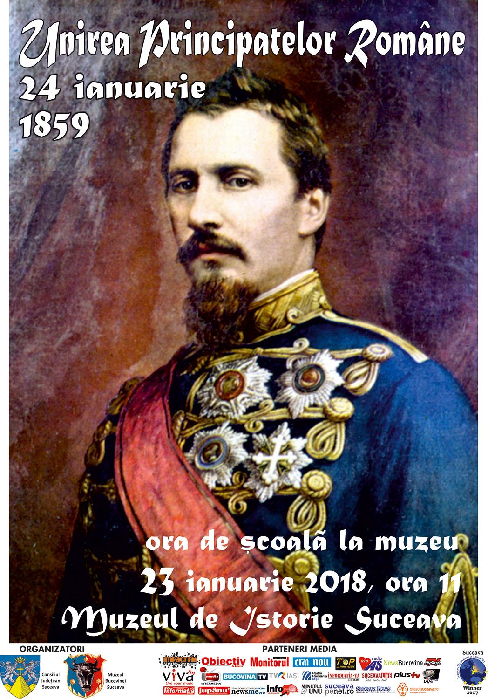 Activitate dedicată Unirii Principatelor din 1859 la Muzeul Bucovinei