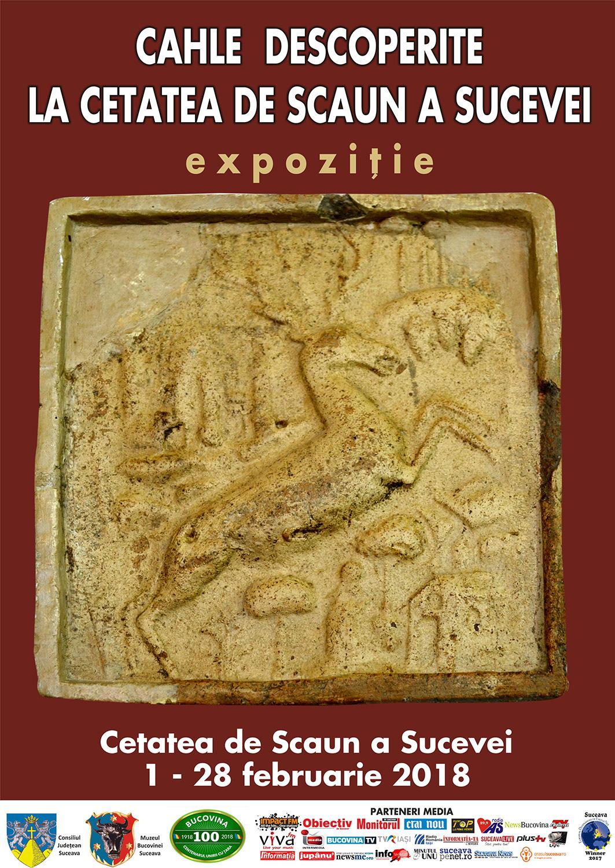 Cahle descoperite în Cetatea de Scaun a Sucevei