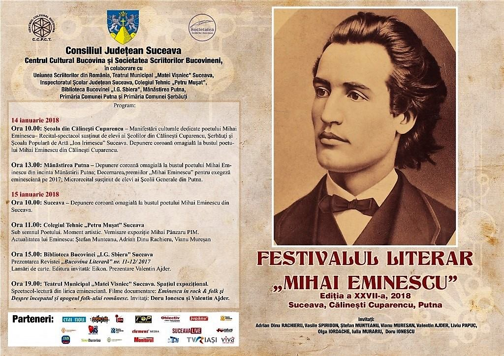 Festivalul Literar Mihai Eminescu