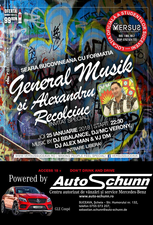 Formația General Musik și Alexandru Recolciuc
