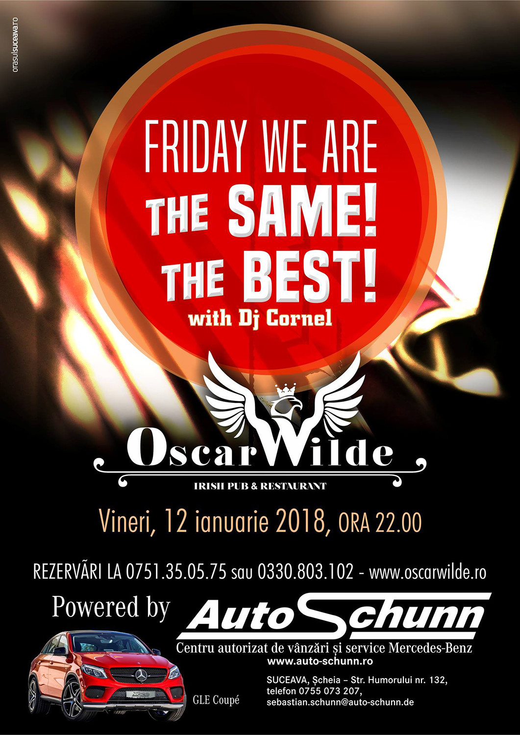 Friday we are the same, the best!