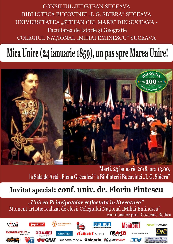 Mica Unire (24 Ianuarie 1859), un pas spre Marea Unire!