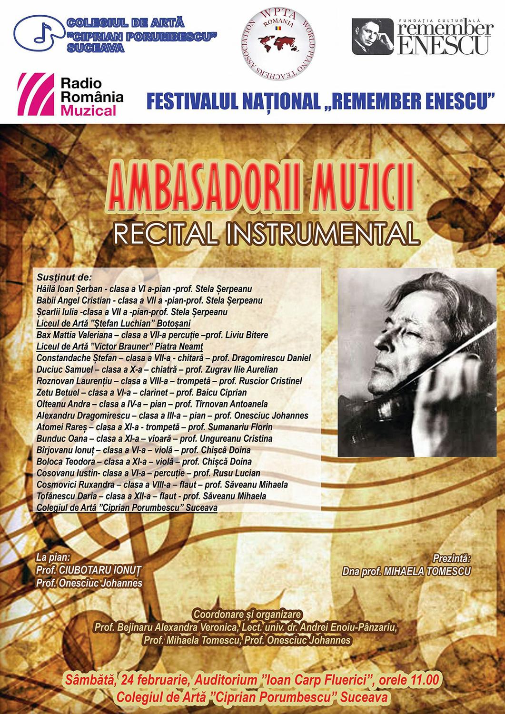Ambasadorii muzicii