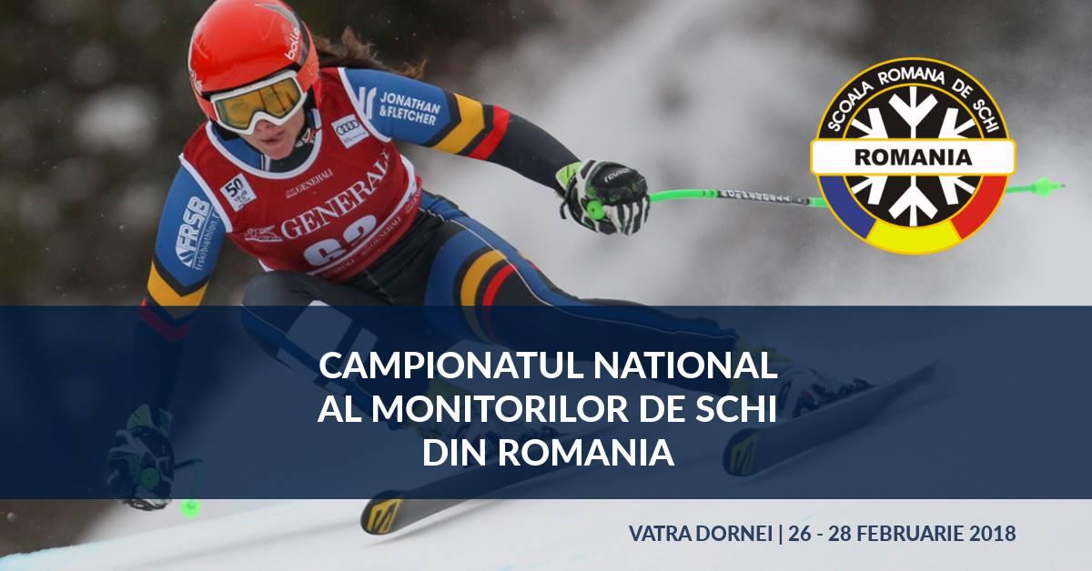 Campionatul Național al Monitorilor de Schi din România