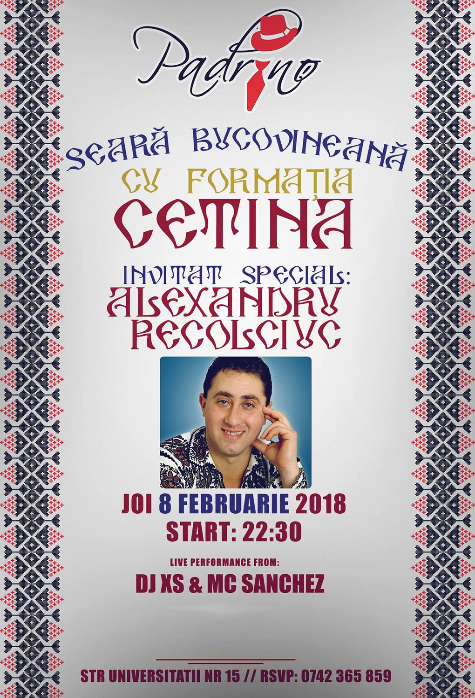 Formația Cetina și Alexandru Recolciuc