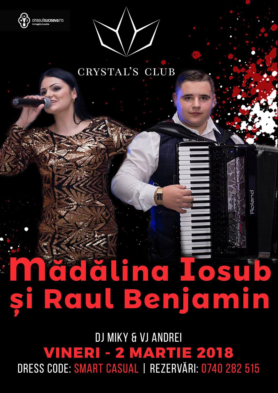 Mădălina Iosub și Raul Benjamin