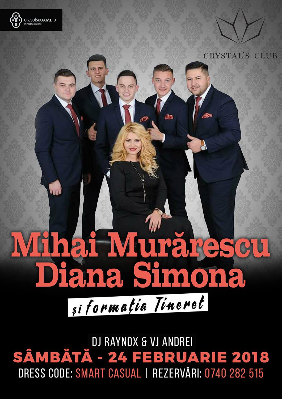 Mihai Murărescu, Diana Simona și Formația Tineret