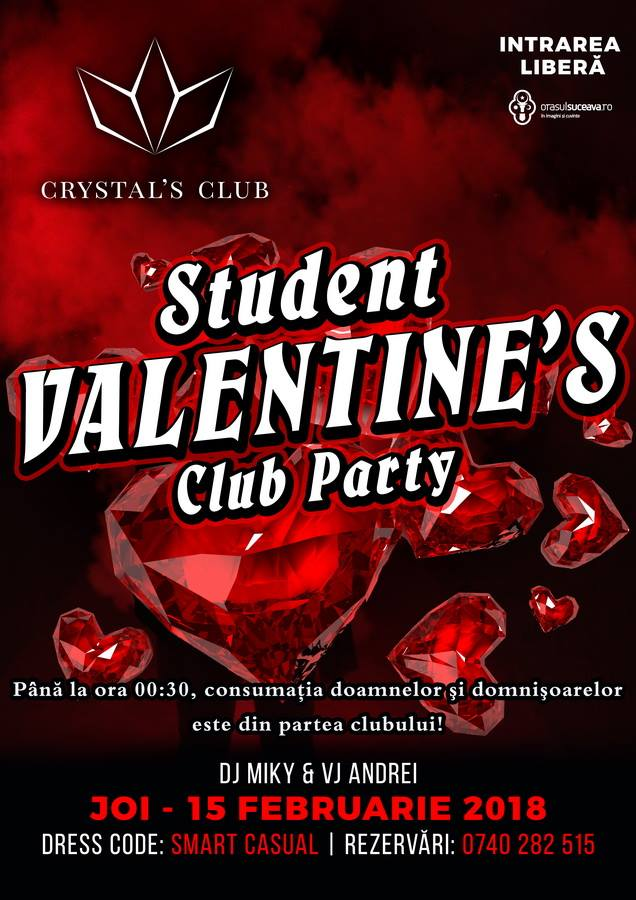 Student Valentine's Club Party