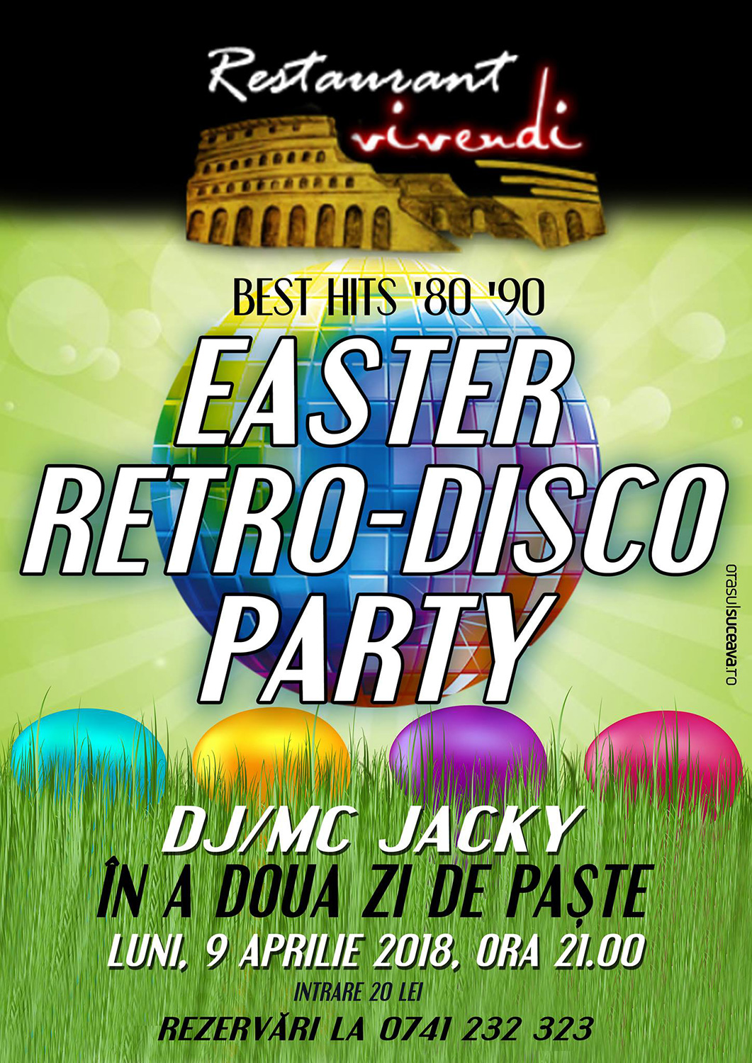 Easter Retro-Disco Party