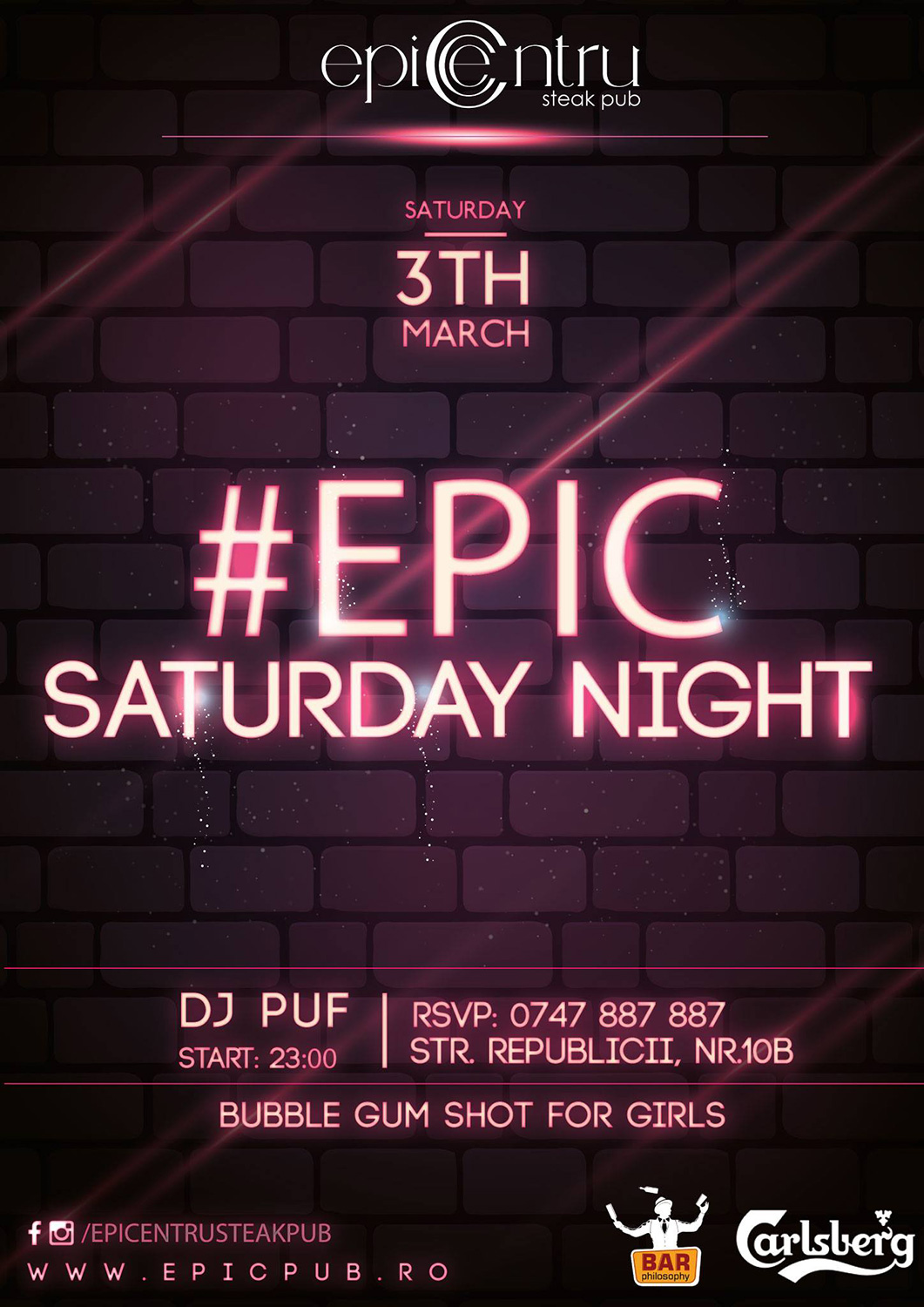 #Epic Saturday Night
