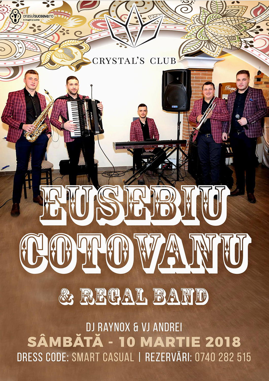 Eusebiu Coțovanu și Regal Band