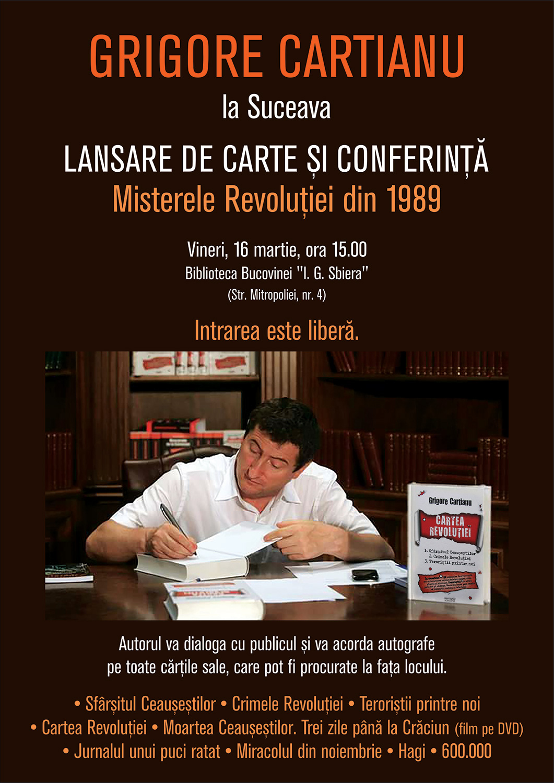 Grigore Cartianu – Misterele Revoluției din 1989