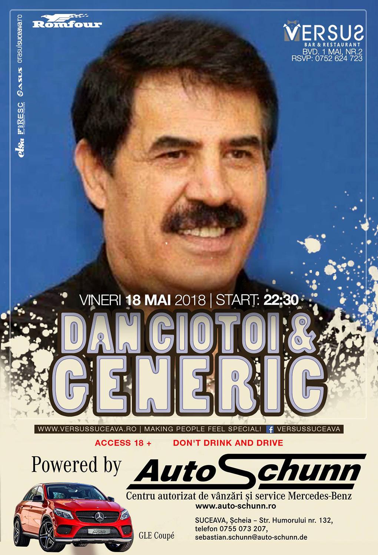 Dan Ciotoi și Formația Generic