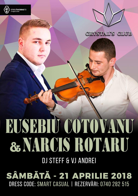 Eusebiu Coțovanu și Narcis Rotariu