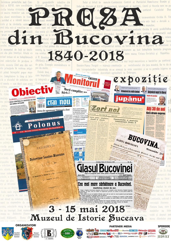 Presa din Bucovina (1860-2018)