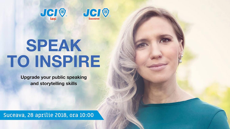 Speak to inspire