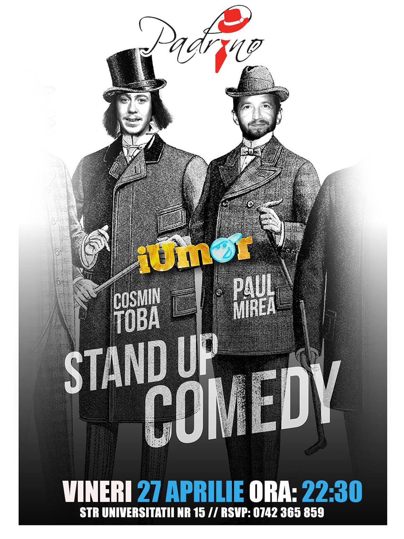 Stand-up comedy cu Cosmin Tobă și Paul Mirea
