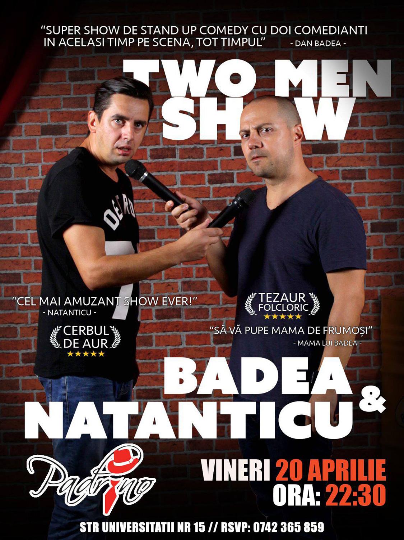 Stand-up comedy cu Dan Badea și Natanticu