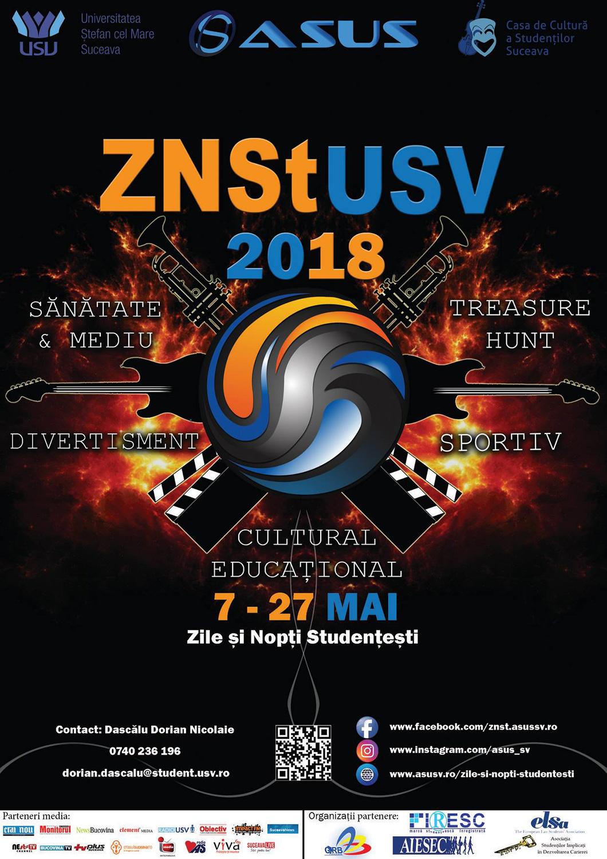 ZNSt (Zilele și Nopțile Studențești) USV