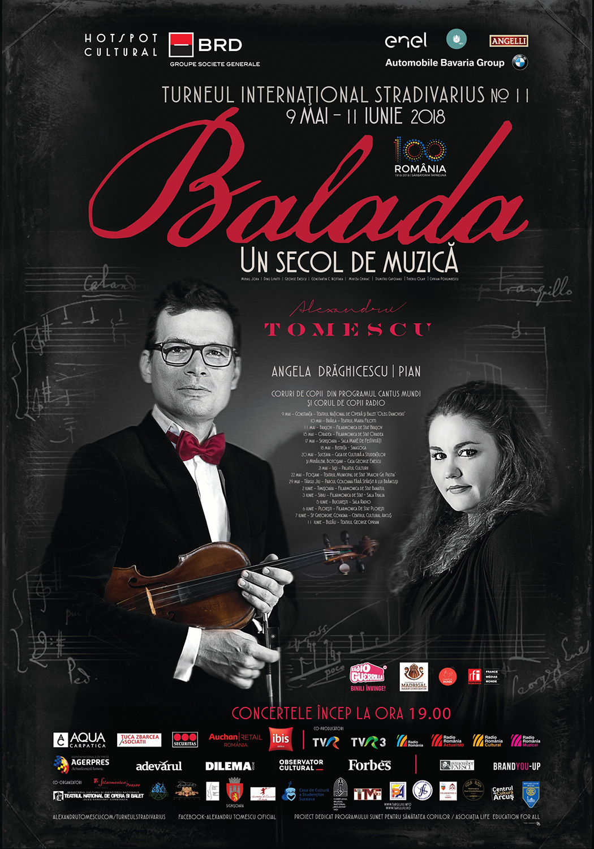 Balada, un secol de muzică