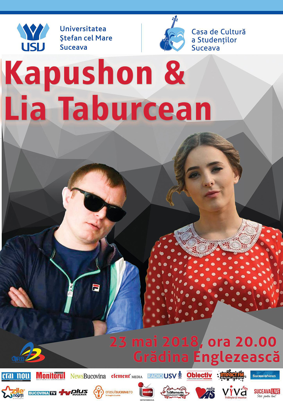 Kapushon și Lia Taburcean