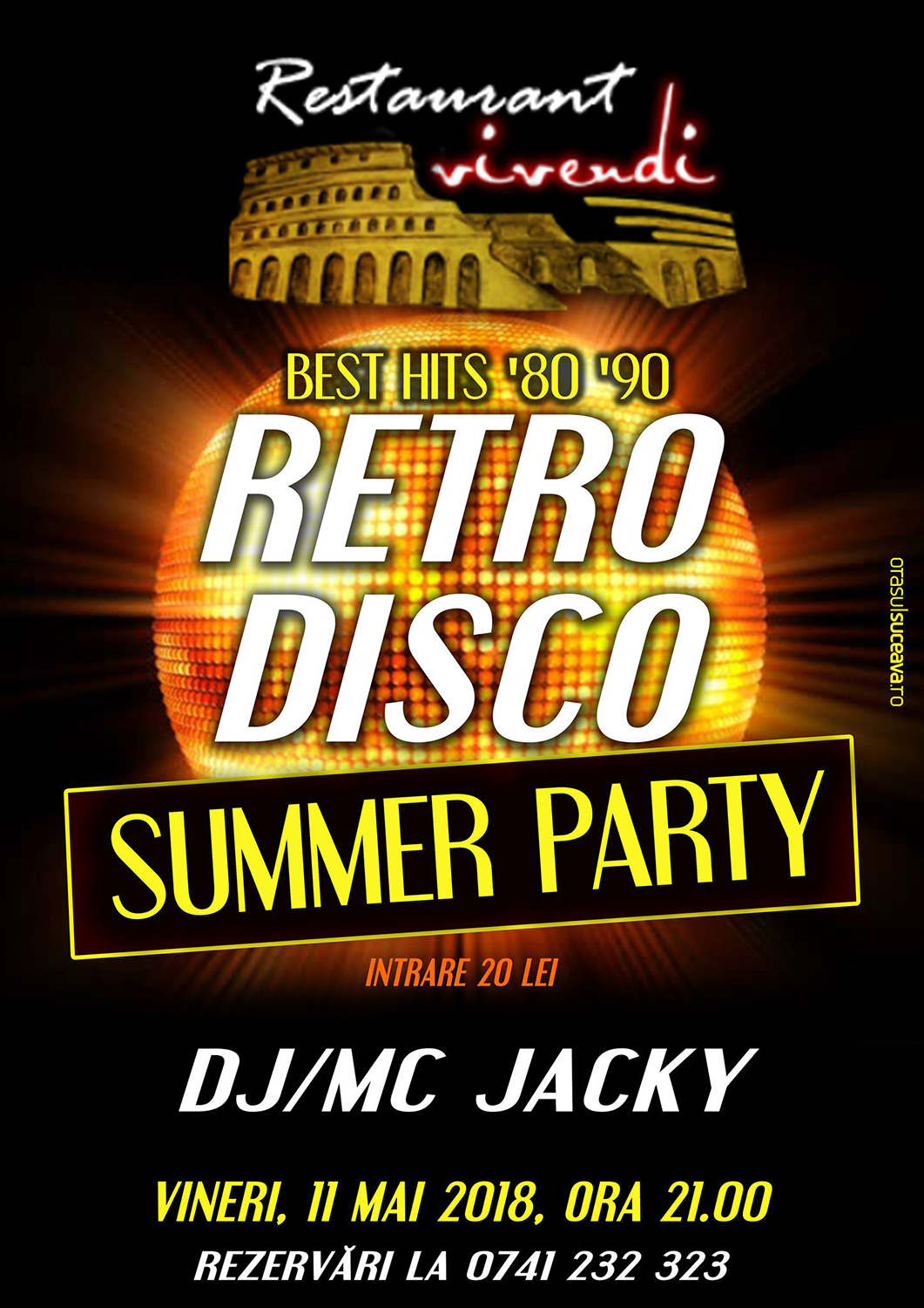 Retro Disco Summer Party