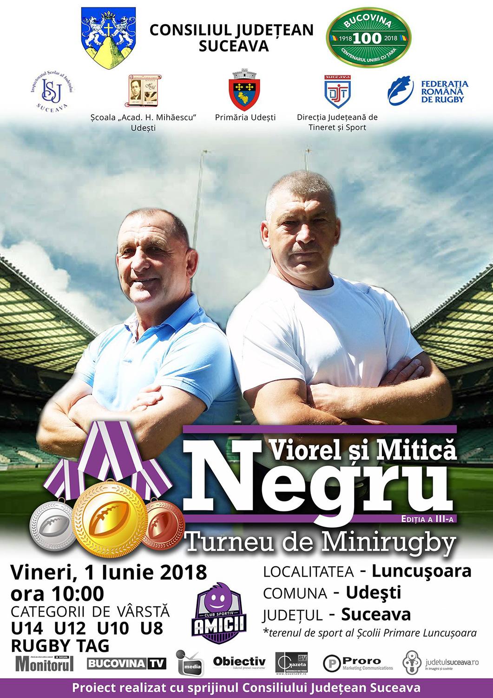 Turneul de Minirugby Viorel și Mitică Negru