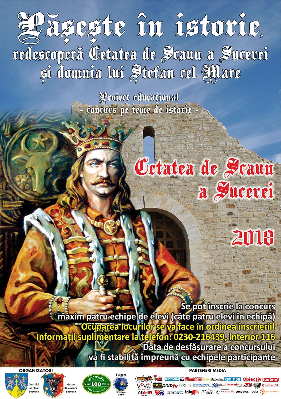 Pășește în istorie - Redescoperă Cetatea de Scaun a Sucevei și domnia lui Ștefan cel Mare