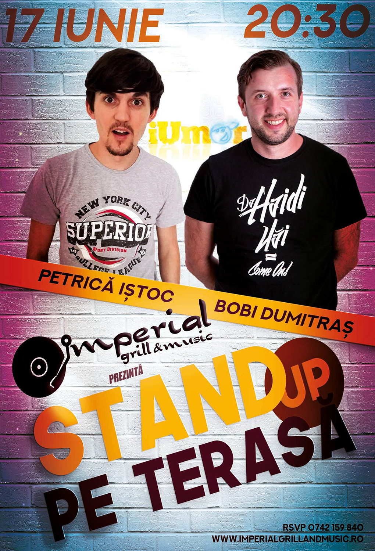 Stand-up comedy cu Petrică Iștoc și Bobi Dumitraș