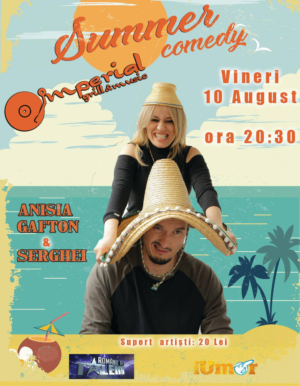 Stand-up comedy cu Anisia și Serghei
