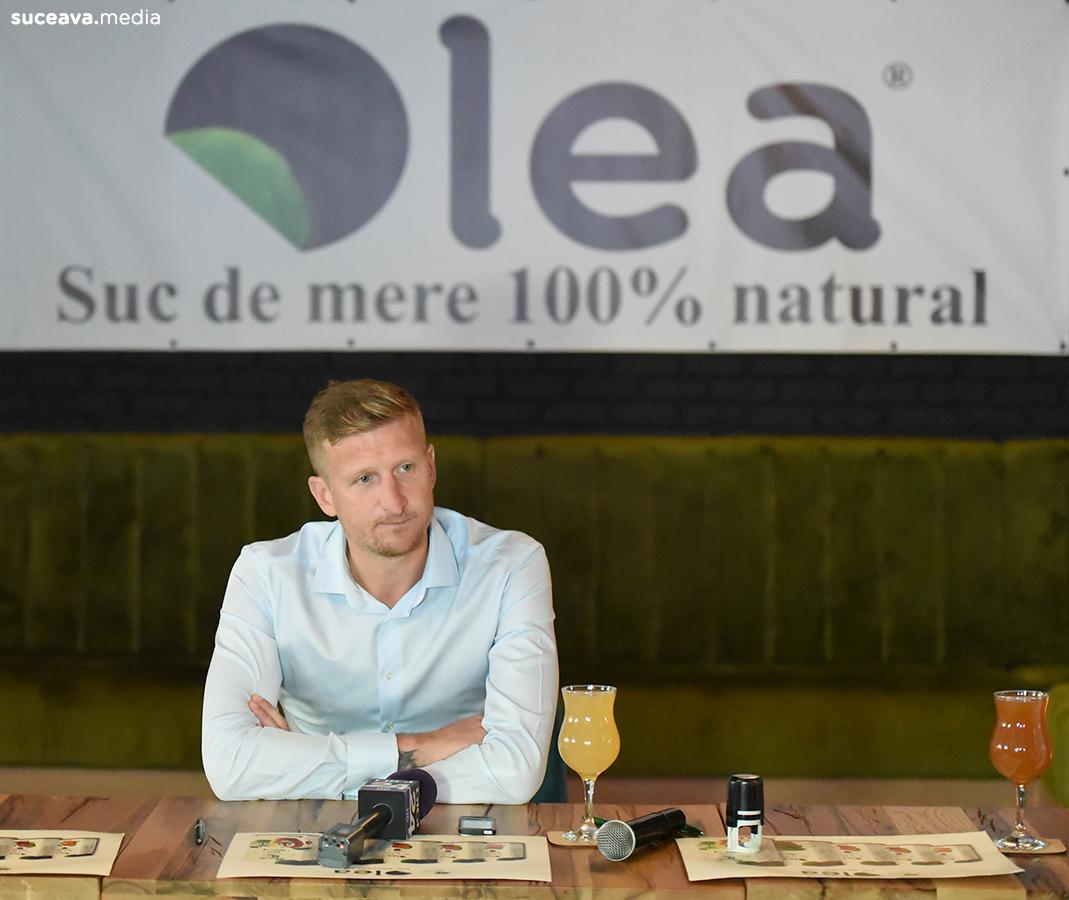 Dorin Goian a devenit imaginea sucurilor naturale Olea (fotoreportaj)