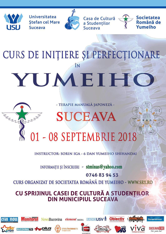 Curs de inițiere și de perfecționare în yumeiho