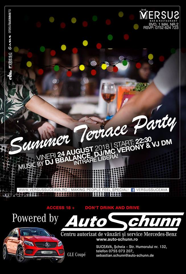 Summer Terrace Party